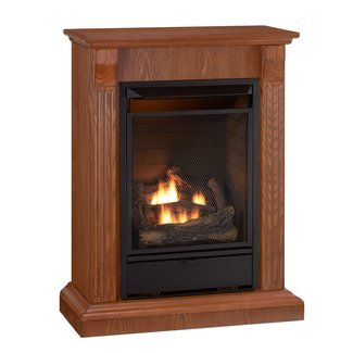 Free Standing Gas Fireplaces :