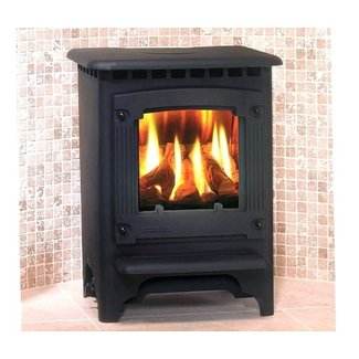 Free Standing Propane Fireplace - goenoeng