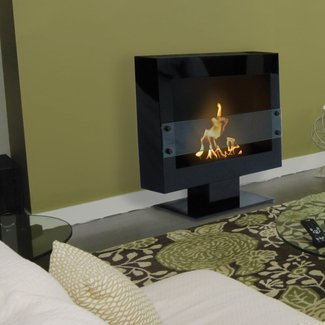 Free Standing Ventless Gas Fireplace |