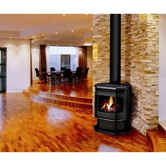 free standing ventless gas fireplace | Hairstyles for ...