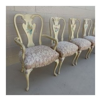 French Antique Dining Chairs Shabby Chic