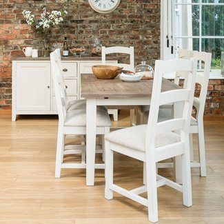 French Country 140cm Extending Dining Table from Dansk