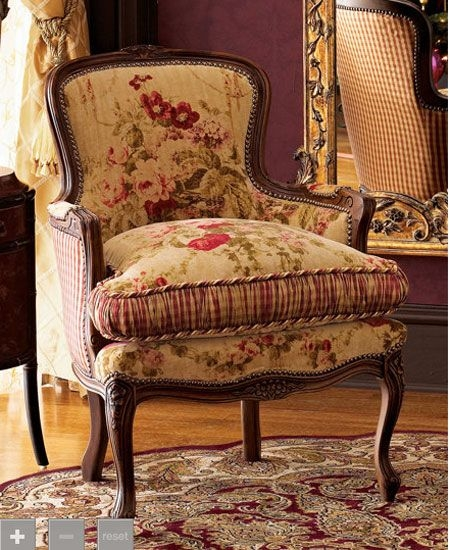 French Country Accent Chair   Foter