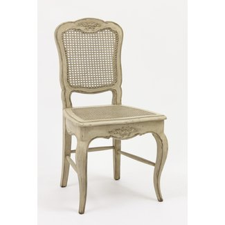 French Country Cane Chair Antique Reproduction Furniture ...