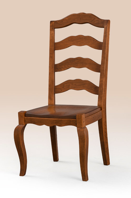 Delicieux French Country Dining Room Chair Side