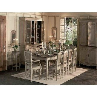 French Country Dining Room Tables with rustic design ...