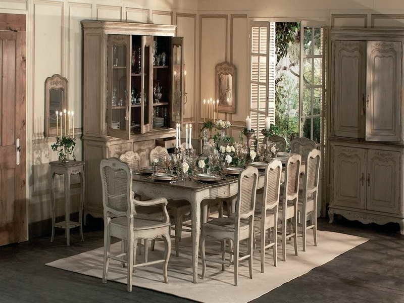 French Country Dining Room Tables With Rustic Design .