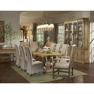 french country dining table chairs :