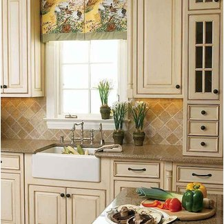French Country Kitchen Cabinets Visual Hunt