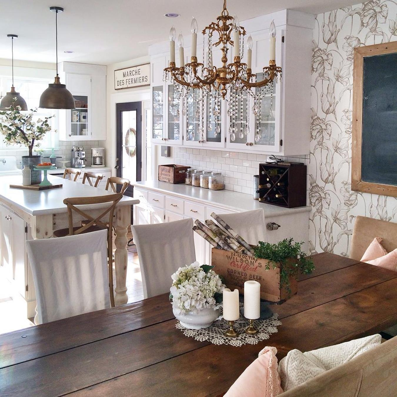 16 Stunning French Style Living Room Ideas: 50+ French Country Kitchen Decor You'll Love In 2020