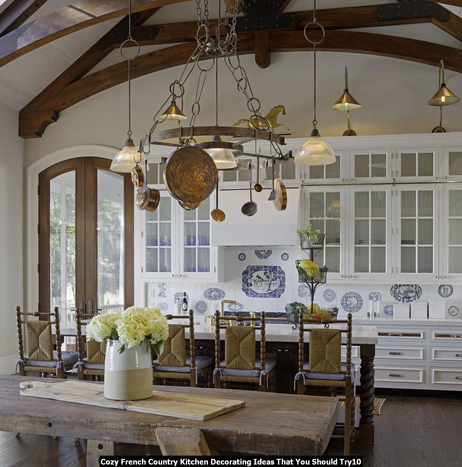 50 French Country Kitchen Cabinets You