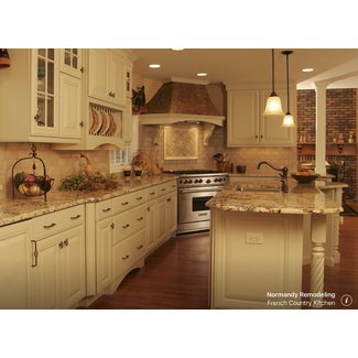 French Country Kitchen - Traditional - Kitchen - Chicago ...