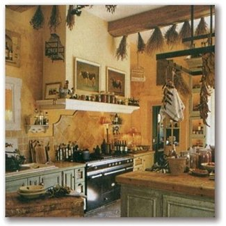 French Country Kitchens / design bookmark #13647
