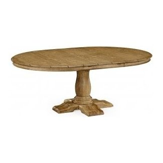 French Country oak dining table