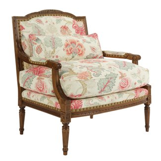 French country - Traditional - Armchairs And Accent Chairs ...