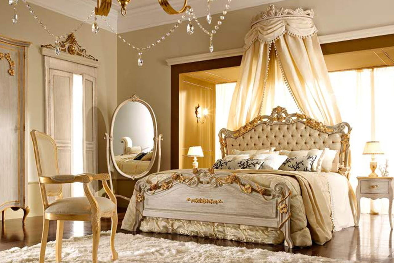 Fresh French Provincial Bedroom Set Decoration