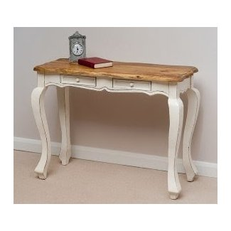 French Shabby Chic Painted Mango Console Table only £159.95