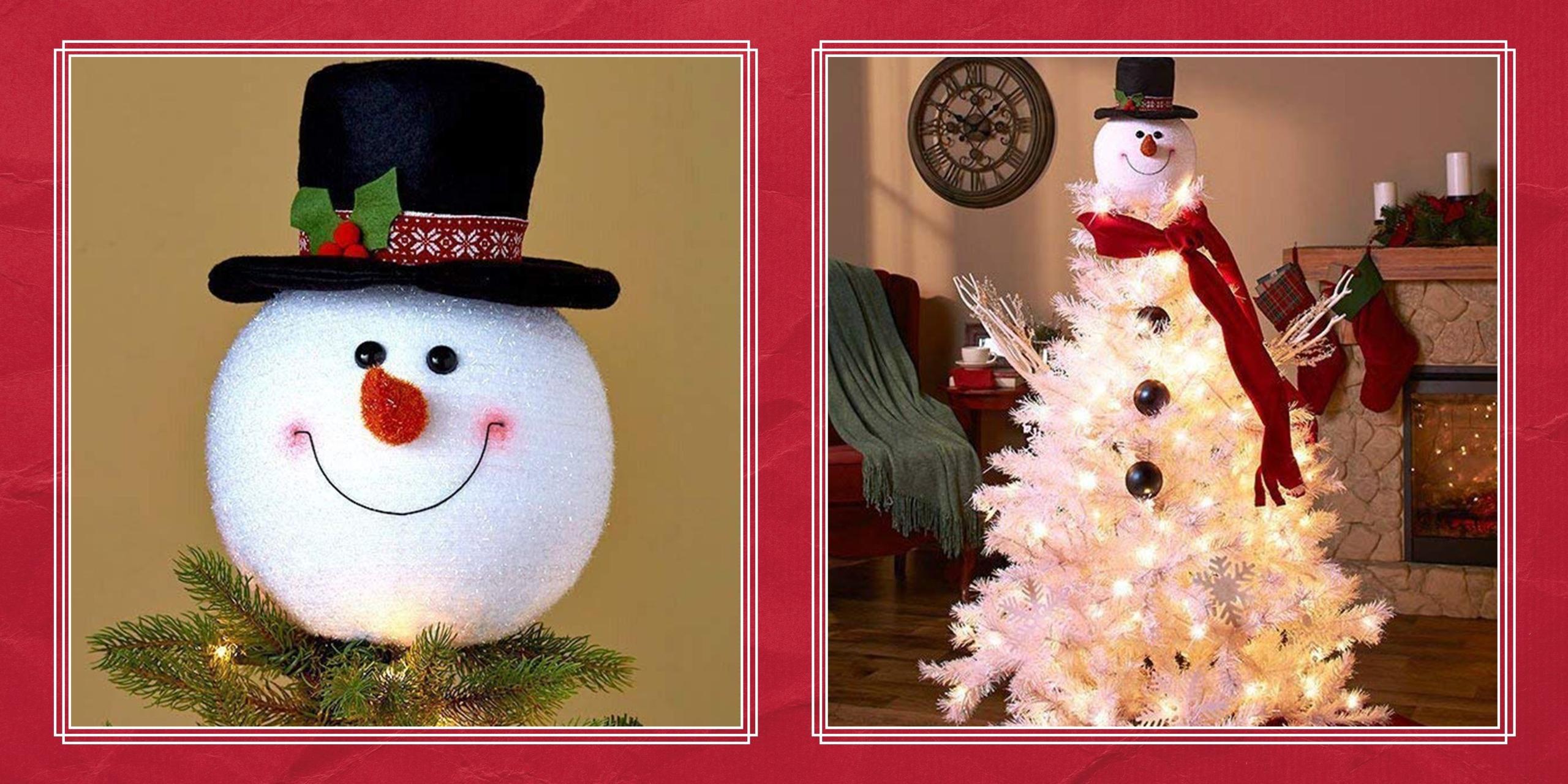 Snowman Tree Topper Visual Hunt