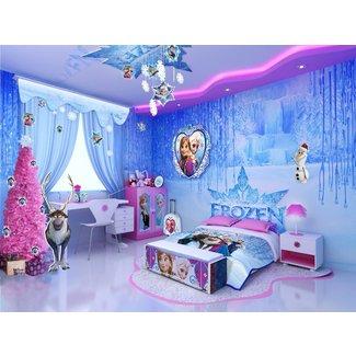 Fascinating Disney Frozen Bedroom Decor