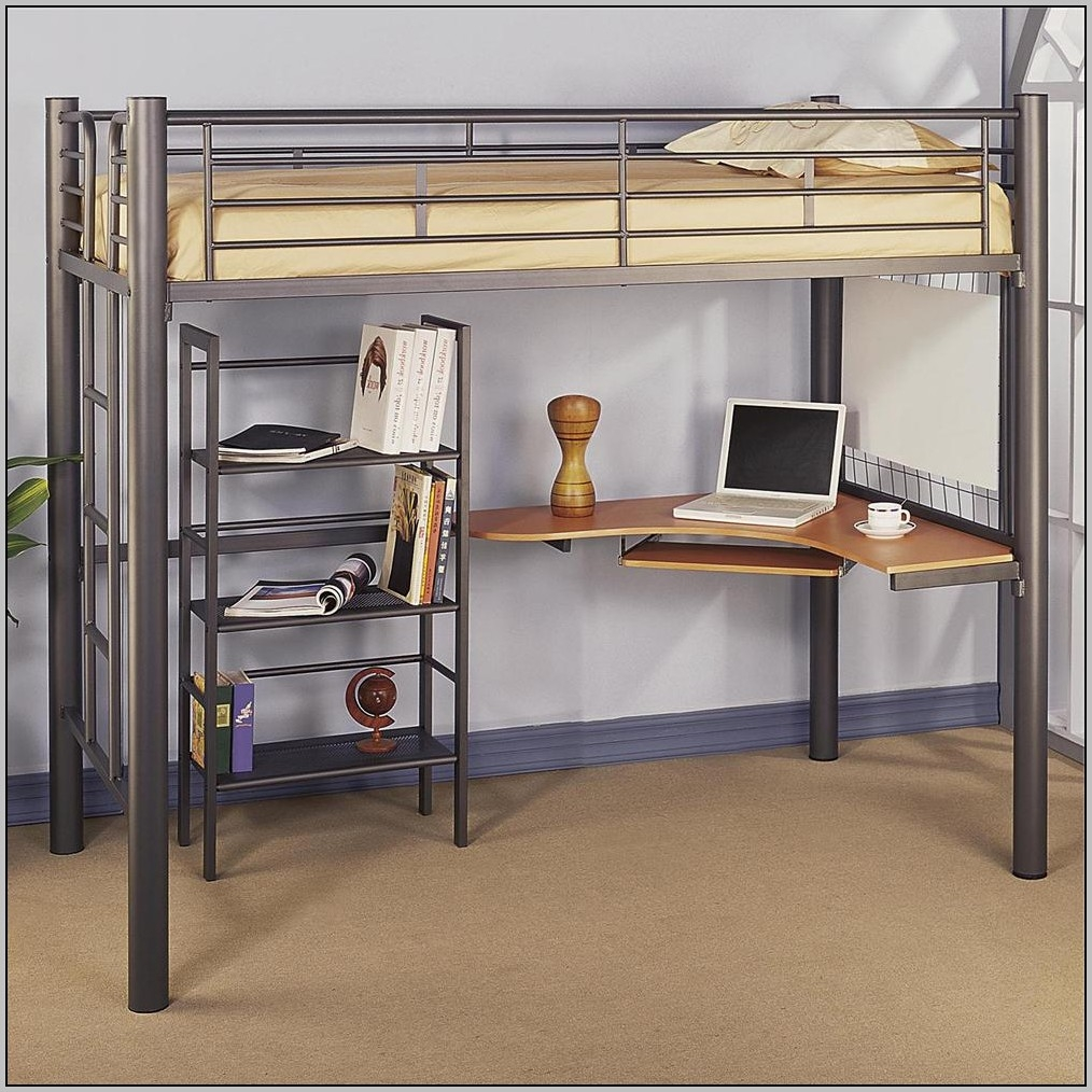 Full Loft Bed With Desk Ikea & Full Size Loft Bed With Desk - Visual Hunt