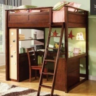 Full Size Loft Bed With Desk | Bed Ideas Design