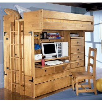 Full Size Loft Bed With Desk Canada Masata Design :