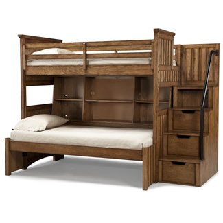 Full Size Loft Bed With Stairs Visual Hunt