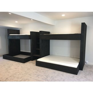 Full Size Loft Bed With Stairs. Image Of Full Size