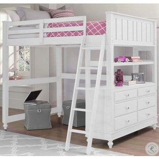 Full Size Loft Bed With Desk Visual Hunt