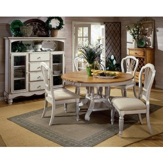 Furniture: Beautiful Spacious French Country Dining Room ...