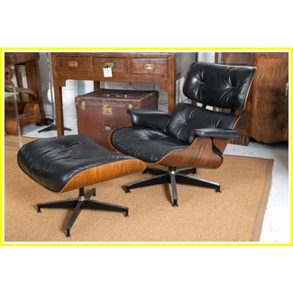 Furniture: Eames Lounge Chair With Vintage Eames Lounge ...