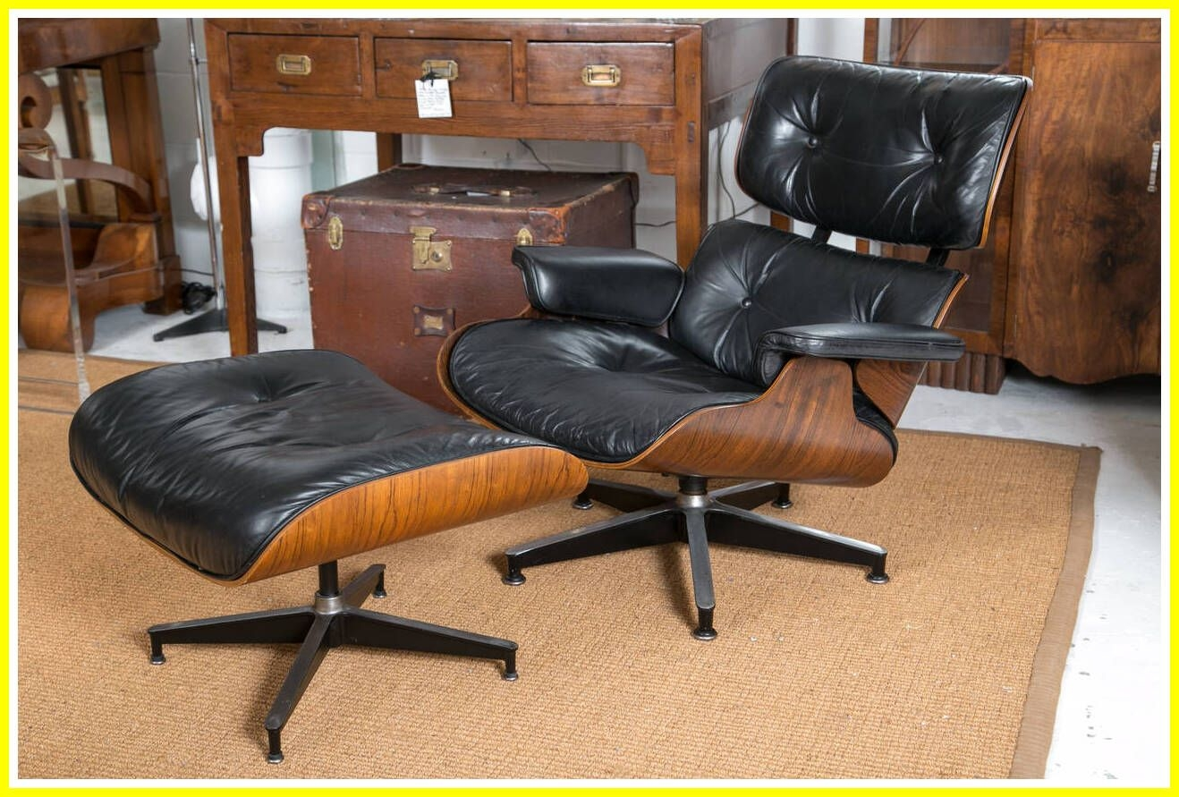 Furniture: Eames Lounge Chair With Vintage Eames Lounge .