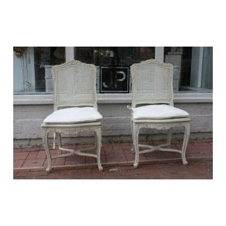 Furniture: French Country X Back Dining Chair View French ...