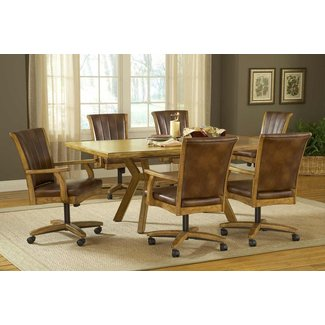 50 Dinette Sets With Caster Chairs You Ll Love In 2020