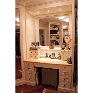 Furniture : Makeup Vanity Table With Lights Homesfeed Of ...