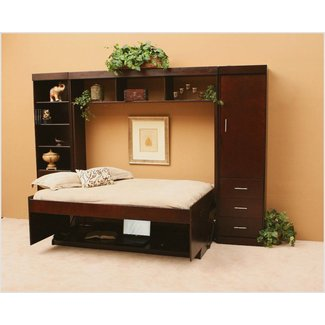Furniture : Murphy Bed Desk Combo With Decorative Pillows ...