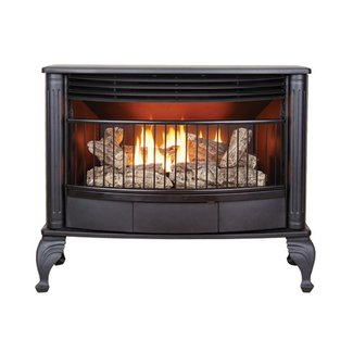 GAS FIREPLACE FREESTANDING STOVE – Fireplaces