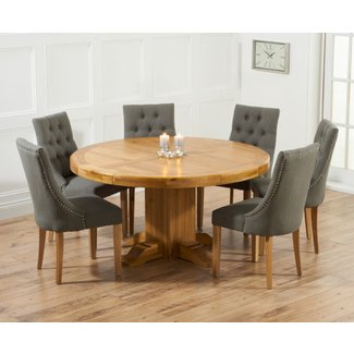 Get The Best Round Dining Table For 6 Home