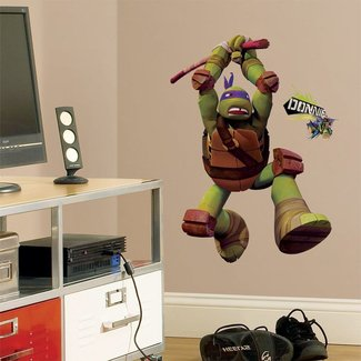 Giant DONATELLO WALL DECALS Teenage Mutant Ninja Turtles ...