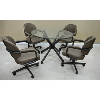 Dinette Sets With Caster Chairs - Visual Hunt