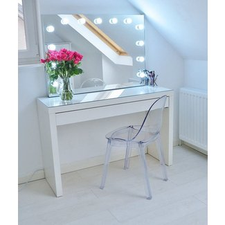 Goed make-up licht in je interieur • Cynthia
