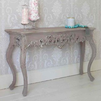 Grace Shabby Chic Console Table traditional-console-tables
