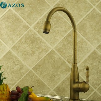 Greenspring Centerset Antique Brass Kitchen Faucet Bar Sink Faucets Mixer Taps
