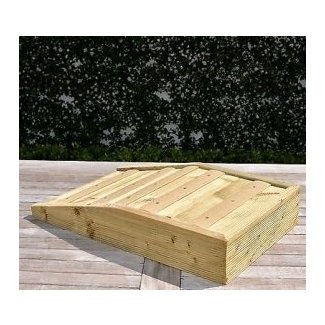 Handmade Outdoor Garden Pet Ramp for Your Dog or Cat