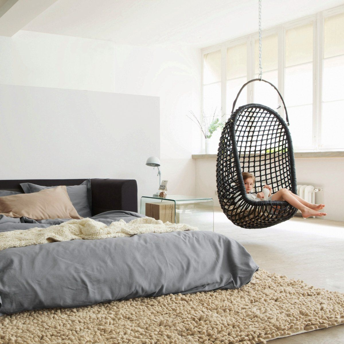 hanging chair for bedroom visual hunt rh visualhunt com hanging chairs for bedrooms uk hanging chairs for bedrooms ikea