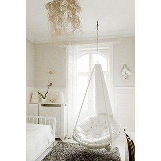 Hanging papasan chair | home ideas | Pinterest | Papasan