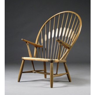 Hans J. Wegner Peacock Chair (1947)