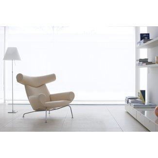Hans Wegner Ej100 Ox Chair -