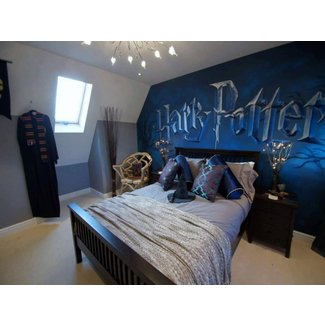 Harry Potter mural room | Children's mural room based on