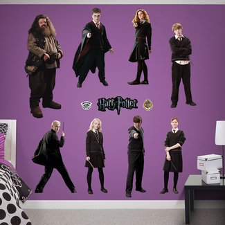 Harry Potter Peel and Stick Wall Decal